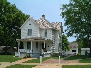 Reagan's Childhood Home