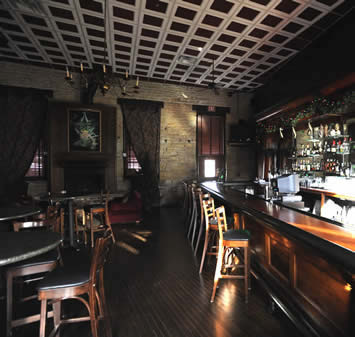 Interior of a bar in Chicago we appraised